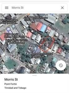 Point Fortin plot for sale in prime location.