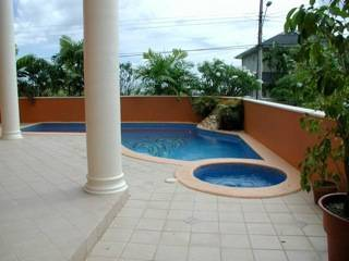 WESTMOORINGS- 5 bedroom, Executive Villa, Pool and Spa US$5500.00. 389-9799