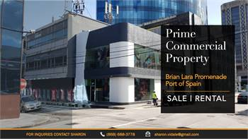 PRIME COMMERCIAL PROPERTY on Brian Lara Promenade